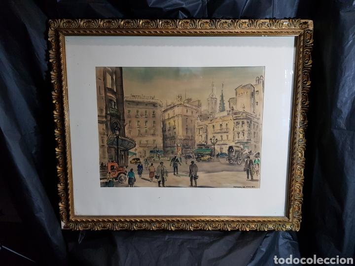Arte: Via Layetana por Antonio Giménez Toledo De Velez - Foto 7 - 148098754