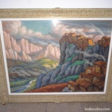 Arte: ACUARELA-TEMPLE FIRMADO J.VALS.BUENA FACTURA Y BIEN ENMARCADO.. Lote 148373782