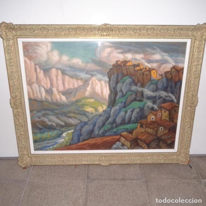 Arte: Acuarela-temple firmado j.vals.buena factura y bien enmarcado. - Foto 2 - 148373782
