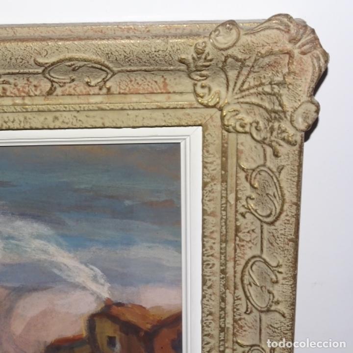 Arte: Acuarela-temple firmado j.vals.buena factura y bien enmarcado. - Foto 9 - 148373782