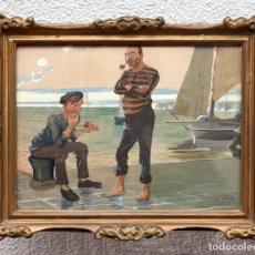 Arte: ACUARELA DE MUECAS - 1908. Lote 148544838