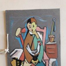 Arte: VALERIANO. RONDA. GUACHE SOBRE CARTULINA. FELICITACIÓN NAVIDEÑA 1955.. Lote 148640768