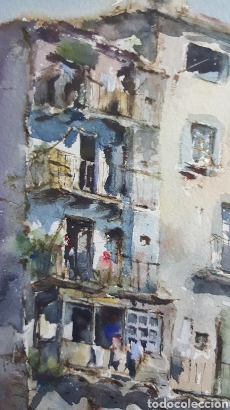 Arte: ACUARELA DE JAUME ROCA DELPECH (Vista de Girona) 1948 - Foto 8 - 149206080