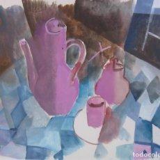 Arte: GOUACHE JOAN CAPELLA. Lote 149394422