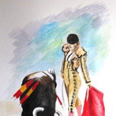 Arte: TOREANDO OBRA DE GILABERTE. Lote 149607310