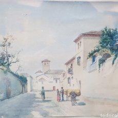 Arte: ACUARELA GRANADINA S.XIX. Lote 150001544