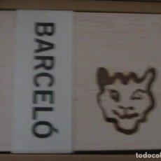 Arte: FELINOS EN LOS PAREDES DE LAS CUEVAS DE CHAUVET Y PINTADO POR BARCELÓ. Lote 150655210
