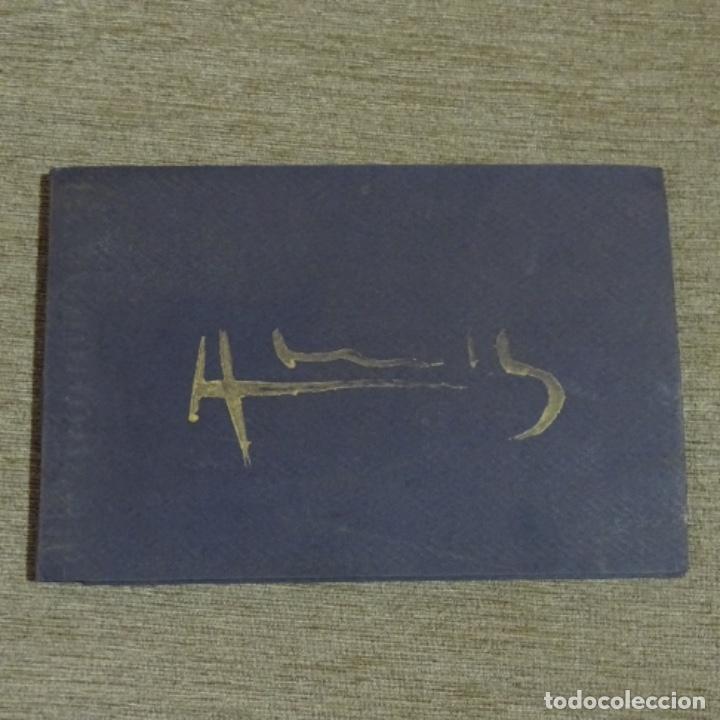 Arte: Acuarela en libro de cristofol almirall(sant Pere de ribes 1952).pinturas de Venecia. - Foto 2 - 152232062