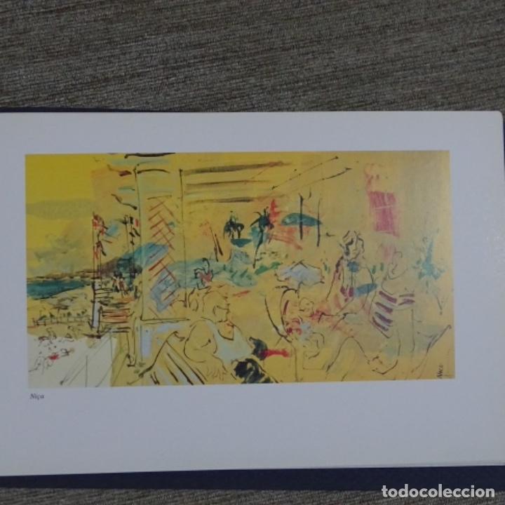Arte: Acuarela en libro de cristofol almirall(sant Pere de ribes 1952).pinturas de Venecia. - Foto 4 - 152232062