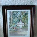 Arte: PALMERAS DE ELCHE, DE VICENTE CLAVEL - AÑO 1930. Lote 152299958