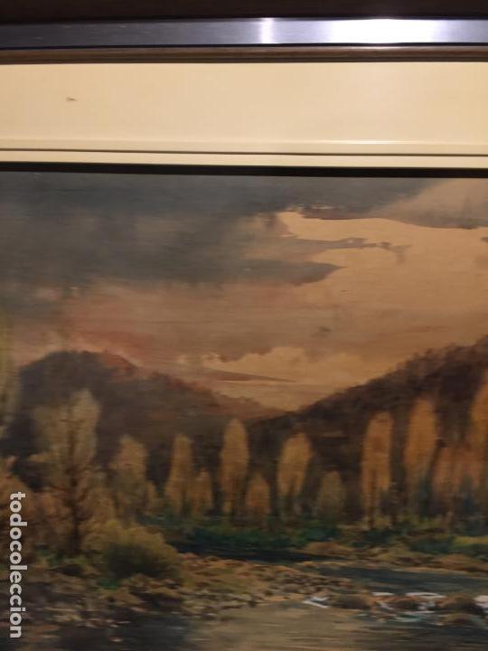Arte: Antiguo cuadro acuarela de paisaje del pintor Ramon Pons ( 1887-1978) - Foto 12 - 152374370