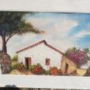 Arte: ACUARELA DEL PINTOR CANARIO PASTOR CABRERA AÑO 66... Lote 152439248