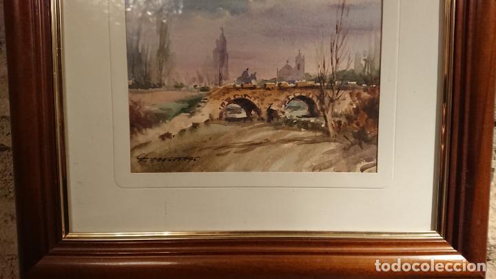 Arte: Antiguos 2 cuadro / cuadros acuarela del pintor Felip Brugueras Pallach - Foto 7 - 152554650