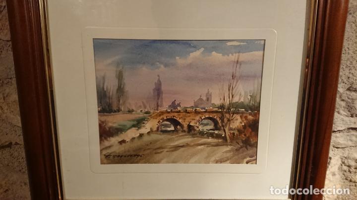 Arte: Antiguos 2 cuadro / cuadros acuarela del pintor Felip Brugueras Pallach - Foto 10 - 152554650
