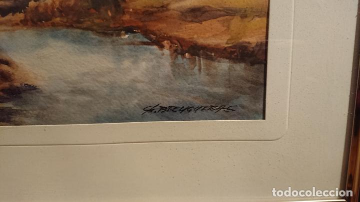 Arte: Antiguos 2 cuadro / cuadros acuarela del pintor Felip Brugueras Pallach - Foto 14 - 152554650