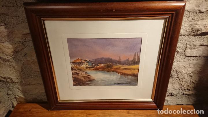 Arte: Antiguos 2 cuadro / cuadros acuarela del pintor Felip Brugueras Pallach - Foto 15 - 152554650