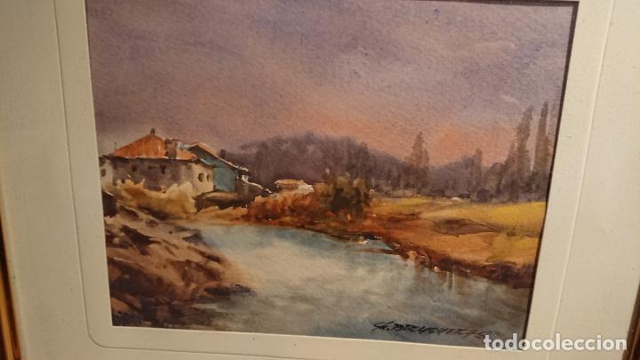 Arte: Antiguos 2 cuadro / cuadros acuarela del pintor Felip Brugueras Pallach - Foto 18 - 152554650