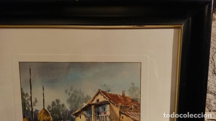 Arte: Antiguos 2 cuadro / cuadros acuarela del pintor Felip Brugueras Pallach - Foto 13 - 152554862