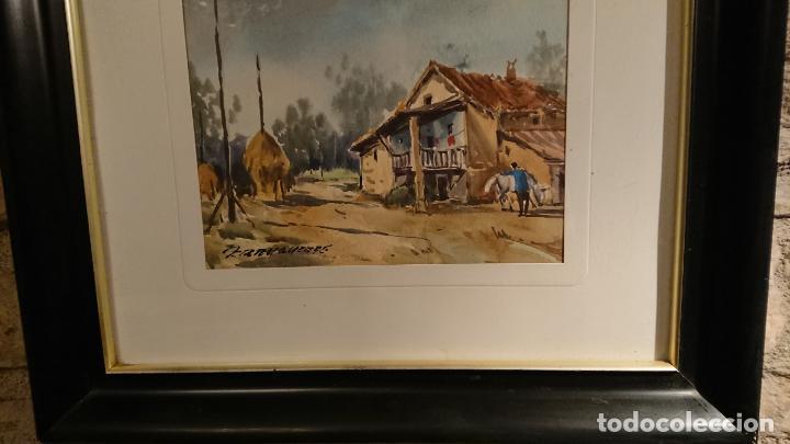 Arte: Antiguos 2 cuadro / cuadros acuarela del pintor Felip Brugueras Pallach - Foto 14 - 152554862