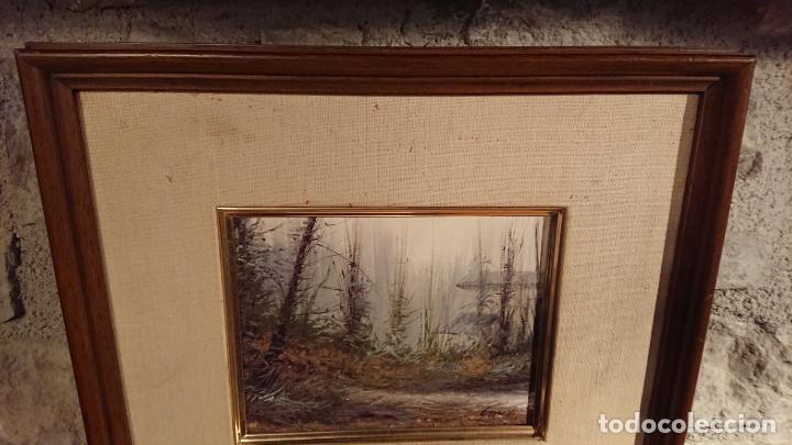 Arte: Antiguo cuadro al oleo de paisaje pintora Griselda Ferrandez Balaguer - Foto 3 - 152556922