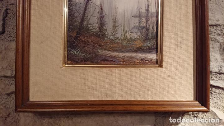 Arte: Antiguo cuadro al oleo de paisaje pintora Griselda Ferrandez Balaguer - Foto 4 - 152556922