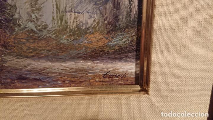 Arte: Antiguo cuadro al oleo de paisaje pintora Griselda Ferrandez Balaguer - Foto 5 - 152556922