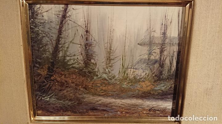 Arte: Antiguo cuadro al oleo de paisaje pintora Griselda Ferrandez Balaguer - Foto 6 - 152556922