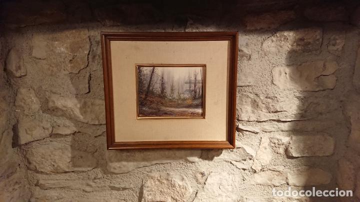 Arte: Antiguo cuadro al oleo de paisaje pintora Griselda Ferrandez Balaguer - Foto 7 - 152556922