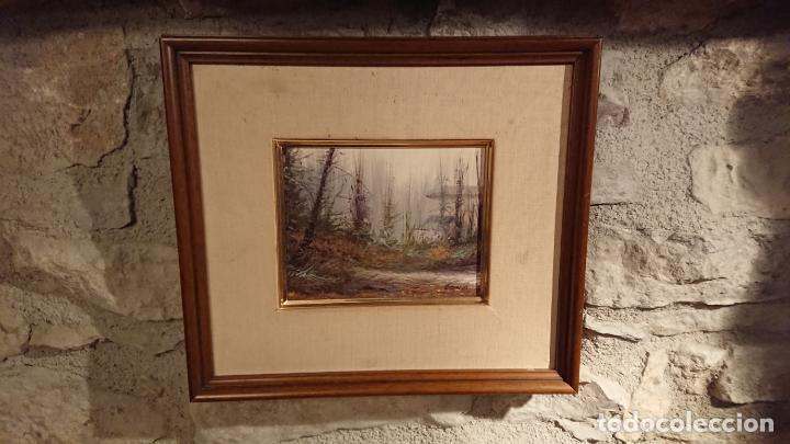 Arte: Antiguo cuadro al oleo de paisaje pintora Griselda Ferrandez Balaguer - Foto 8 - 152556922