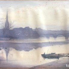 Arte: ACUARELA ANTIGUA ( THOMAS WALMSLEY ). Lote 152642724