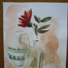 Arte: BONITA ACUARELA. Lote 152836922
