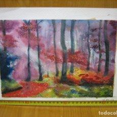 Arte: BONITA ACUARELA. Lote 152890730
