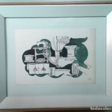 Arte: BOADA, PEDRO, ILUSTRACIÓN ORIGINAL 1972. Lote 123359843