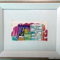 Arte: BOADA, PEDRO, ILUSTRACIÓN ORIGINAL 1972. Lote 123360095