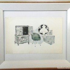 Arte: BOADA, PEDRO, ILUSTRACIÓN ORIGINAL 1972. Lote 123356959