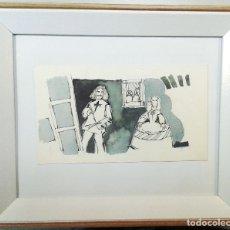 Arte: BOADA, PEDRO, ILUSTRACIÓN ORIGINAL 1972. Lote 123357047