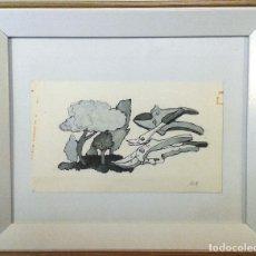Arte: BOADA, PEDRO, ILUSTRACIÓN ORIGINAL 1972. Lote 123358575