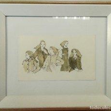 Arte: BOADA, PEDRO, ILUSTRACIÓN ORIGINAL 1972. Lote 123357427