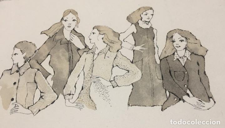 Arte: Boada, Pedro, ilustración original 1972 - Foto 2 - 123357427