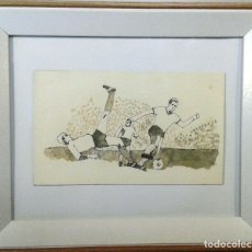 Arte: BOADA, PEDRO, ILUSTRACIÓN ORIGINAL 1972. Lote 123357683