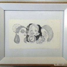 Arte: BOADA, PEDRO, ILUSTRACIÓN ORIGINAL 1972. Lote 123358447