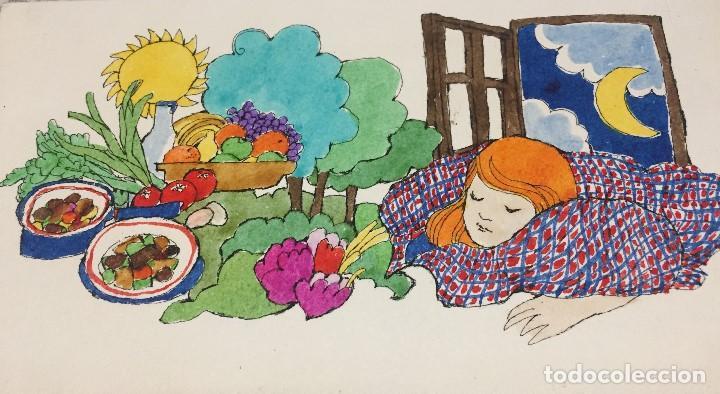 Arte: Boada, Pedro, ilustración original 1972 - Foto 2 - 123359155