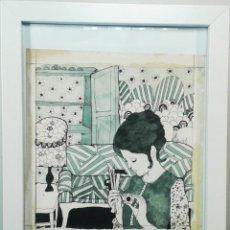 Arte: BOADA, PEDRO, ILUSTRACIÓN ORIGINAL 1972. Lote 123364303