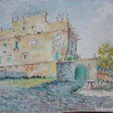 Arte: BONAVENTURA POLLÉS VIVÓ ARQUITECTO. PALACIO DE LOS VELARDE , SANTILLANA DEL MAR.1917. Lote 153111614