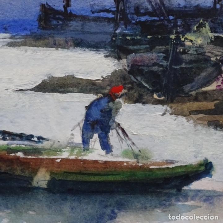 Arte: Acuarela y óleo sobre cartulina firmado moni 88. - Foto 7 - 153142170