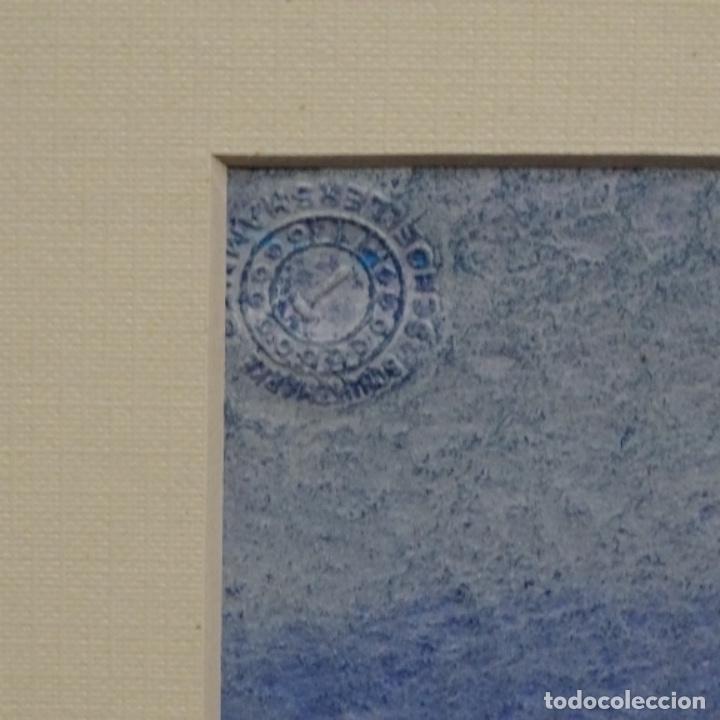 Arte: Acuarela y óleo sobre cartulina firmado moni 88. - Foto 8 - 153142170