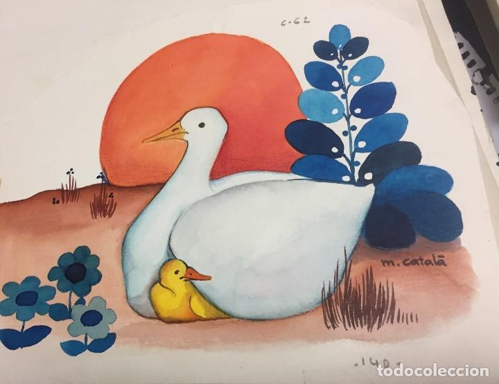 Arte: Mireia Catalá, obra original y catalogada, 20x20 cms - Foto 2 - 151972422