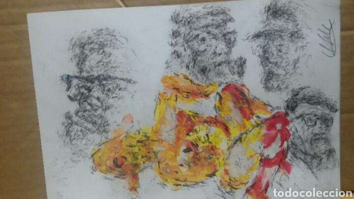 Arte: Dibujo acuarela original erotico original - Foto 6 - 153265309