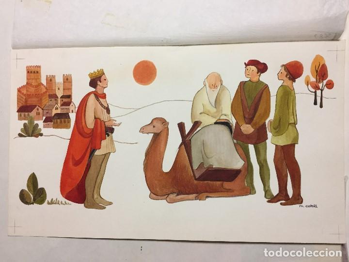 Arte: original de Mireia Catala para Enciclopedia Infantil, firmada y catalogada,40x30cms. - Foto 2 - 108013239