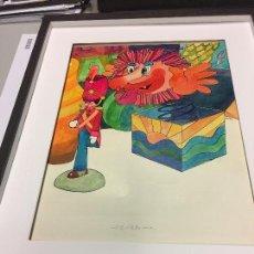 Arte: BOADA, ORIGINAL PARA ILUSTRAR EL SOLDADITO DE PLOMO DE ANDERSEN,50X40CMS. Lote 112344787